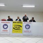 PRESIDENTE DO SINTRACOM LONDRINA PARTICIPA DE REUNIÃO DA DIRETORIA DA FETRACONSPAR EM GUARAPUAVA