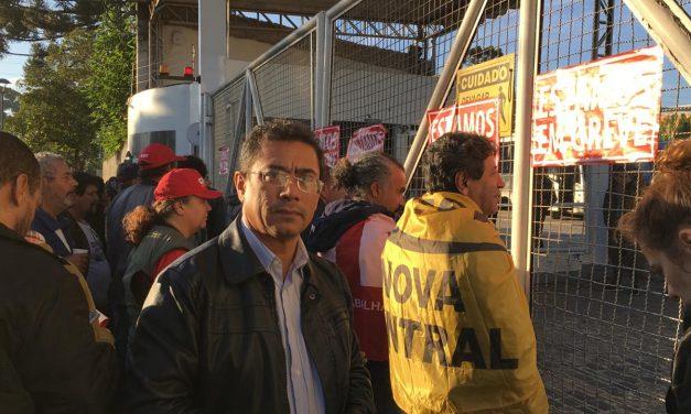 Presidente do SINTRACOM Londrina participa da Greve Geral